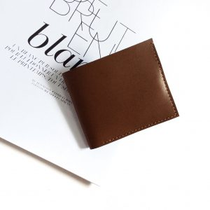 Minimal Bifold Wallet in Wood