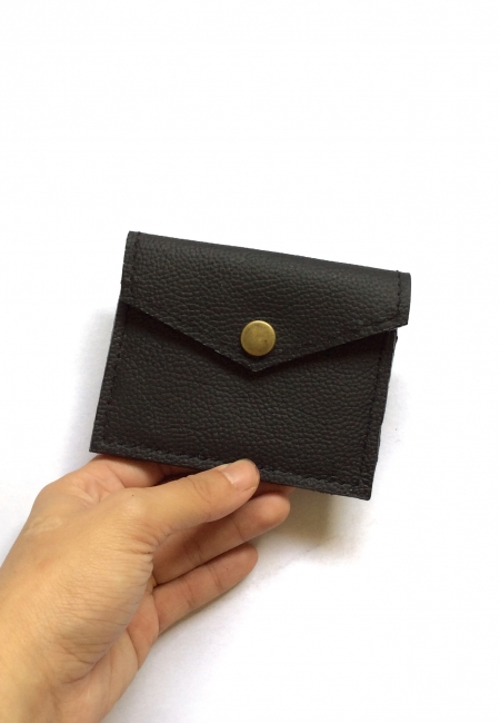 Slim wallet coal